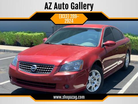 2006 Nissan Altima for sale at AZ Auto Gallery in Mesa AZ