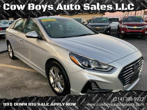 2018 Hyundai Sonata for sale at Cow Boys Auto Sales LLC in Garland TX