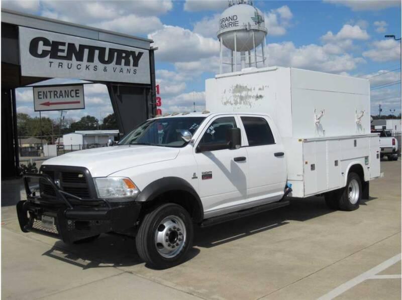 2012 RAM Ram Chassis 5500 for sale at CENTURY TRUCKS & VANS in Grand Prairie TX