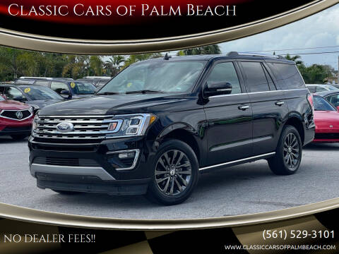 2020 Ford Expedition for sale at Classic Cars of Palm Beach in Jupiter FL