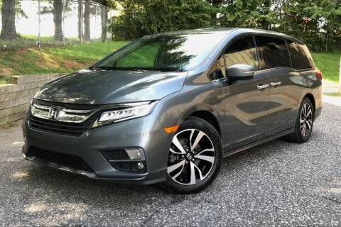 2018 Honda Odyssey for sale at TRUST AUTO in Sykesville MD