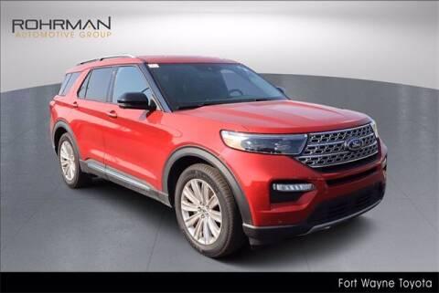 2020 Ford Explorer for sale at BOB ROHRMAN FORT WAYNE TOYOTA in Fort Wayne IN