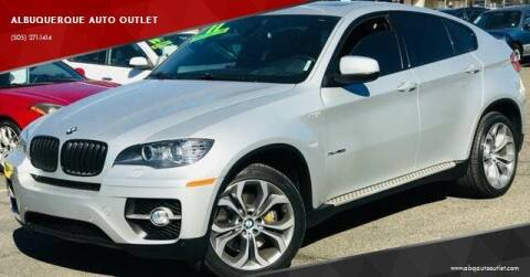 2011 BMW X6 for sale at ALBUQUERQUE AUTO OUTLET in Albuquerque NM