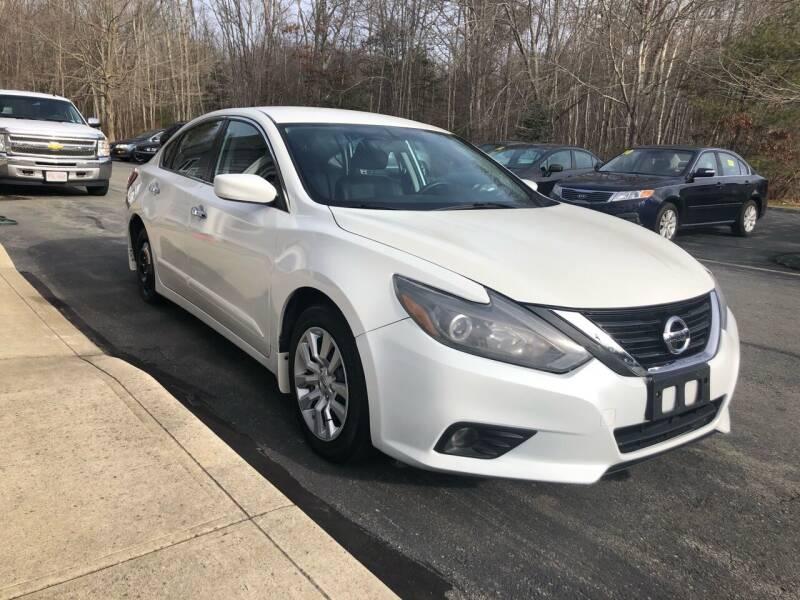 2017 Nissan Altima for sale at Elite Auto Sales in North Dartmouth MA