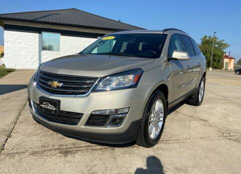 2015 Chevrolet Traverse for sale at Auto House of Bloomington in Bloomington IL
