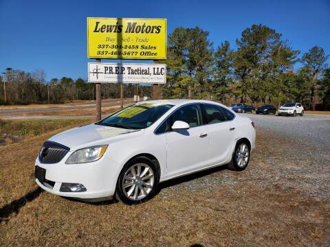 2013 Buick Verano for sale at Lewis Motors LLC in Deridder LA