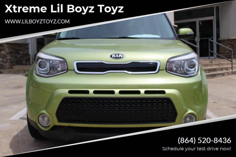 2015 Kia Soul for sale at Xtreme Lil Boyz Toyz in Greenville SC
