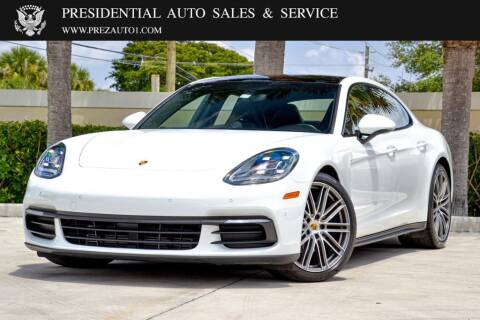 2018 Porsche Panamera for sale at Presidential Auto  Sales & Service in Delray Beach FL