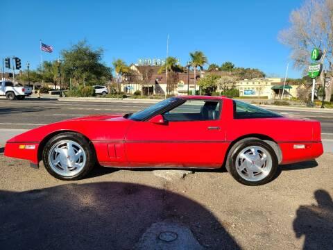 1988 Chevrolet Corvette for sale at Coast Auto Sales in Buellton CA