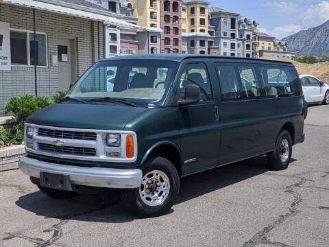 2002 Chevrolet Express Passenger for sale at Clean Fuels Utah in Orem UT