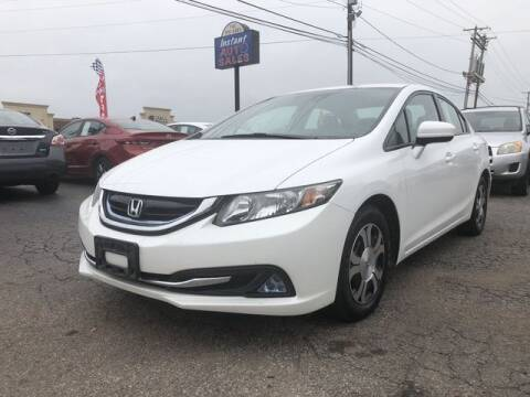 2015 Honda Civic for sale at Instant Auto Sales in Chillicothe OH