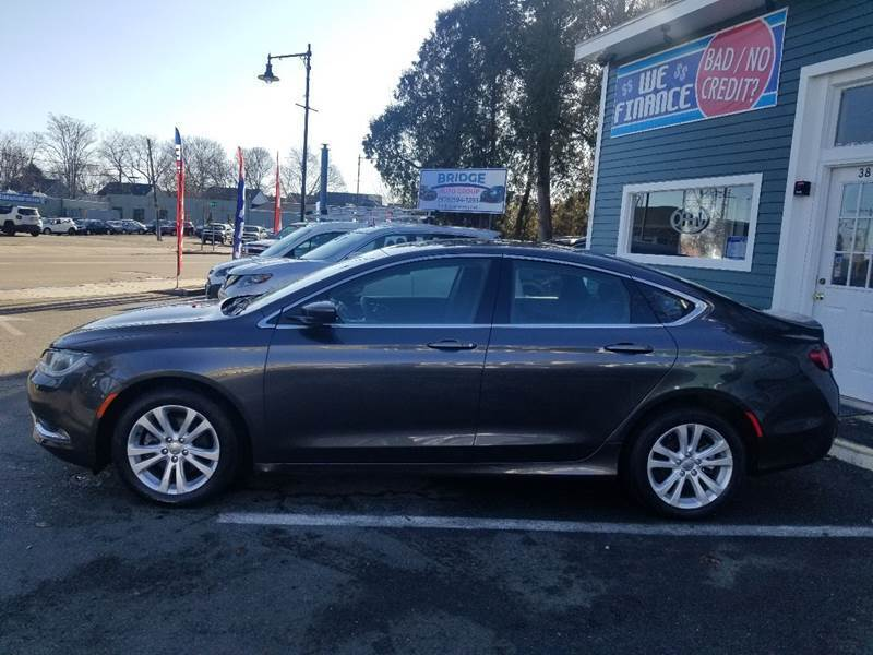 2015 Chrysler 200 for sale at Bridge Auto Group Corp in Salem MA