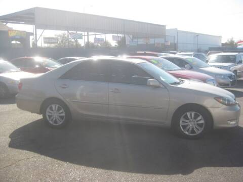 2005 Toyota Camry for sale at Town and Country Motors - 1702 East Van Buren Street in Phoenix AZ