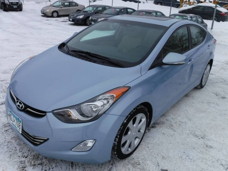 2012 Hyundai Elantra for sale at J & K Auto - J and K in Saint Bonifacius MN