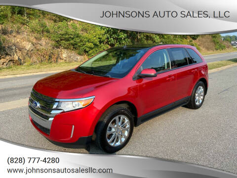 2012 Ford Edge for sale at Johnsons Auto Sales, LLC in Marshall NC