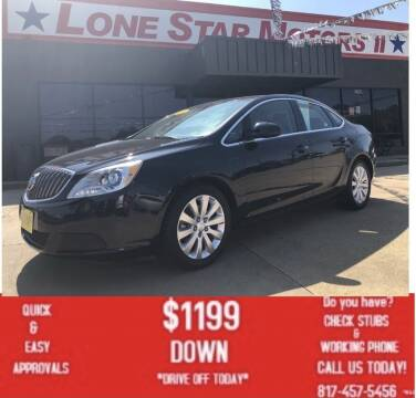 2016 Buick Verano for sale at LONE STAR MOTORS II in Fort Worth TX