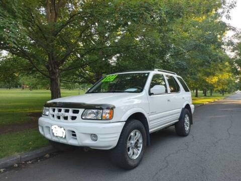 2001 Isuzu Rodeo for sale at NATIONAL AUTO SALES AND SERVICE LLC in Spokane WA
