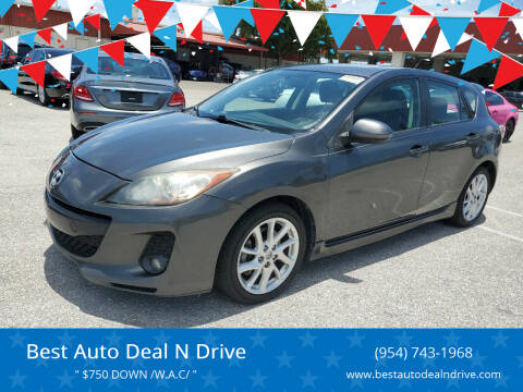 2012 Mazda MAZDA3 for sale at Best Auto Deal N Drive in Hollywood FL