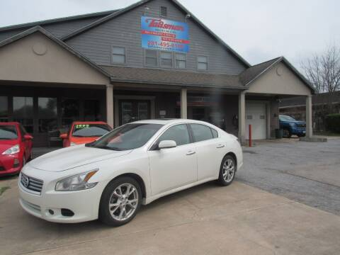 2014 Nissan Maxima for sale at Don Jacobson Automobiles in Houston TX