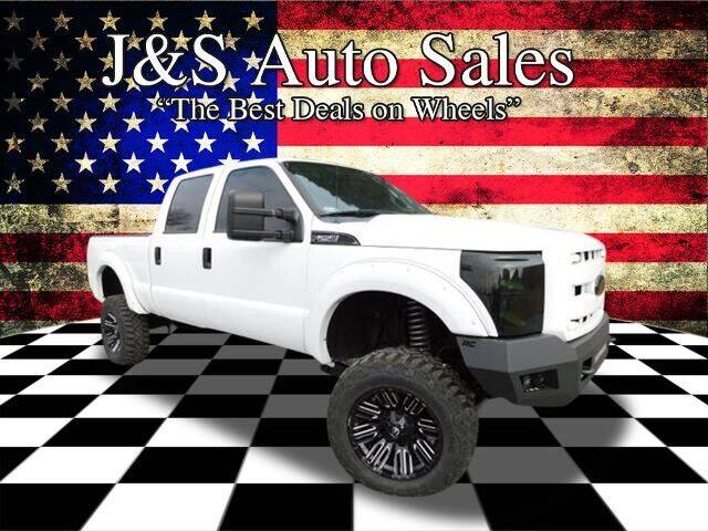 2012 Ford F-250 Super Duty for sale at J & S Auto Sales in Clarksville TN