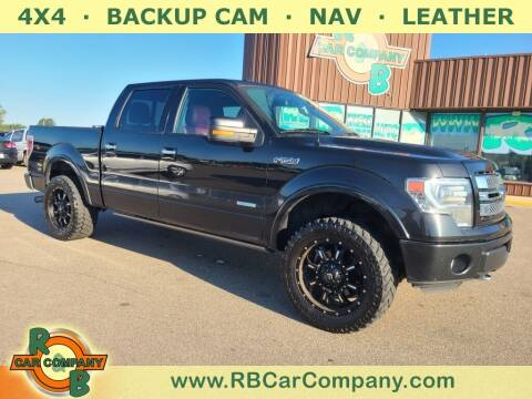 2013 Ford F-150 for sale at R & B Car Co in Warsaw IN