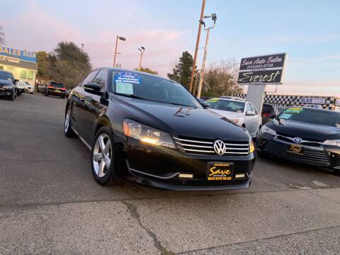 2013 Volkswagen Passat for sale at Save Auto Sales in Sacramento CA