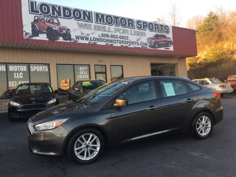 2018 Ford Focus for sale at London Motor Sports, LLC in London KY