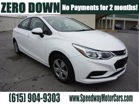 2017 Chevrolet Cruze for sale at Speedway Motors in Murfreesboro TN