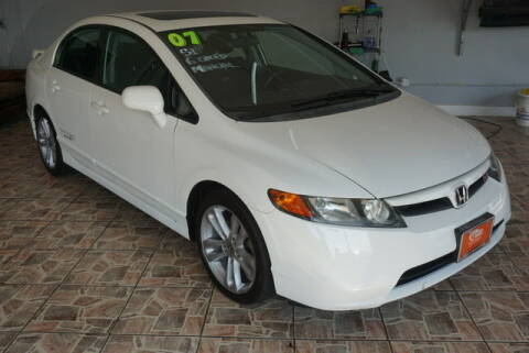 2007 Honda Civic for sale at TOP SHELF AUTOMOTIVE in Newark NJ