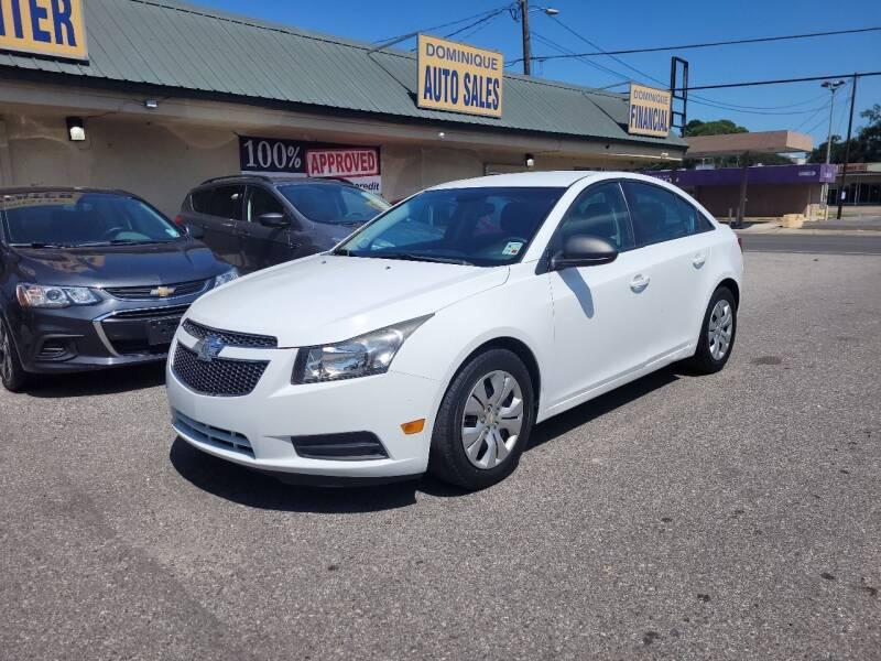 2014 Chevrolet Cruze for sale at Dominique Auto Sales in Opelousas LA