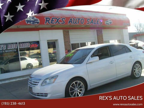 2005 Toyota Avalon for sale at Rex's Auto Sales in Junction City KS