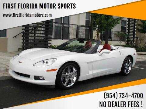 2005 Chevrolet Corvette for sale at FIRST FLORIDA MOTOR SPORTS in Pompano Beach FL