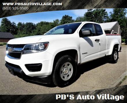 2016 Chevrolet Colorado for sale at PB'S Auto Village in Hampton Falls NH