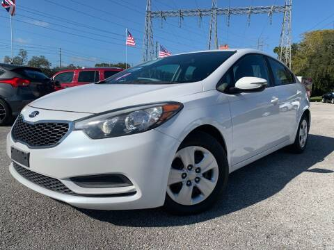 2015 Kia Forte for sale at Das Autohaus Quality Used Cars in Clearwater FL