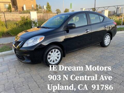2012 Nissan Versa for sale at IE Dream Motors-Upland in Upland CA