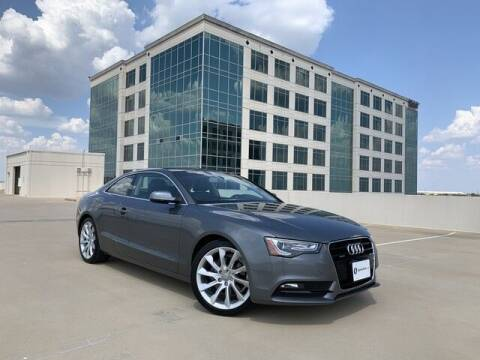 2013 Audi A5 for sale at SIGNATURE Sales & Consignment in Austin TX