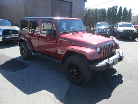 2012 Jeep Wrangler Unlimited for sale at Small Town Auto Sales in Hazleton PA