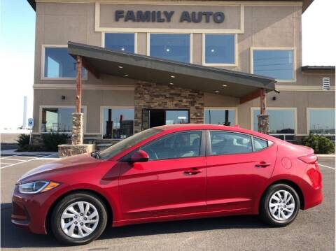 2017 Hyundai Elantra for sale at Moses Lake Family Auto Center in Moses Lake WA