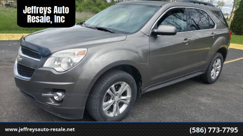 2010 Chevrolet Equinox for sale at Jeffreys Auto Resale, Inc in Clinton Township MI
