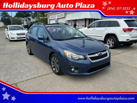 2012 Subaru Impreza for sale at Hollidaysburg Auto Plaza in Hollidaysburg PA