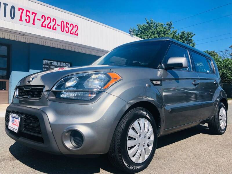 2013 Kia Soul for sale at Trimax Auto Group in Norfolk VA