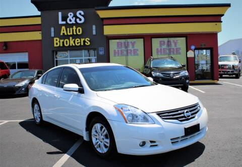 2012 Nissan Altima for sale at L & S AUTO BROKERS in Fredericksburg VA