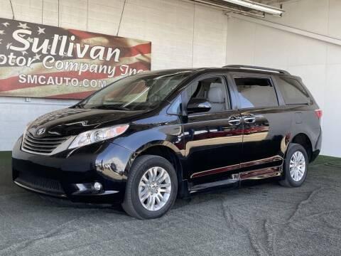 2016 Toyota Sienna for sale at SULLIVAN MOTOR COMPANY INC. in Mesa AZ