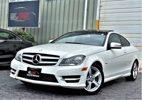 2012 Mercedes-Benz C-Class for sale at Haus of Imports in Lemont IL