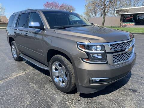2016 Chevrolet Tahoe for sale at Hawkins Motors Sales in Hillsdale MI