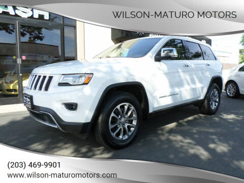 2015 Jeep Grand Cherokee for sale at Wilson-Maturo Motors in New Haven CT