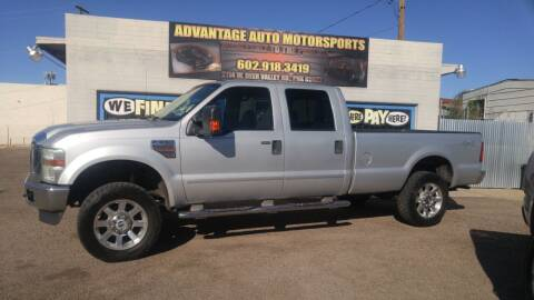 2009 Ford F-350 Super Duty for sale at Advantage Auto Motorsports in Phoenix AZ