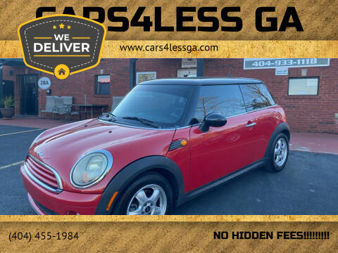 2009 MINI Cooper for sale at Cars4Less GA in Alpharetta GA