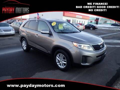2015 Kia Sorento for sale at Payday Motors in Wichita And Topeka KS