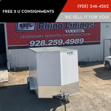 2021 Look Trailers Element for sale at FREE 2 U Consignments in Yuma AZ